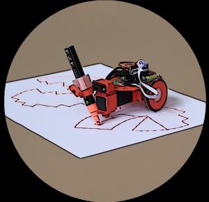 DiBot robot pintor